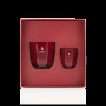 Geschenkbox Kerze Rosso Nobile